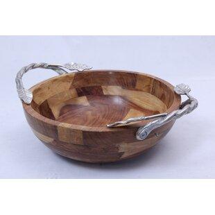 Oasis Wood Serving Bowl