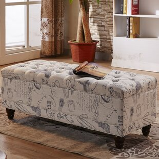 NOYA USA Upholstered Storage Bench