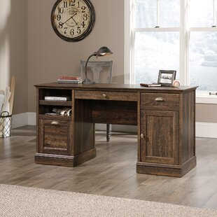 Look for Saunders Executive Desk by Gracie Oaks