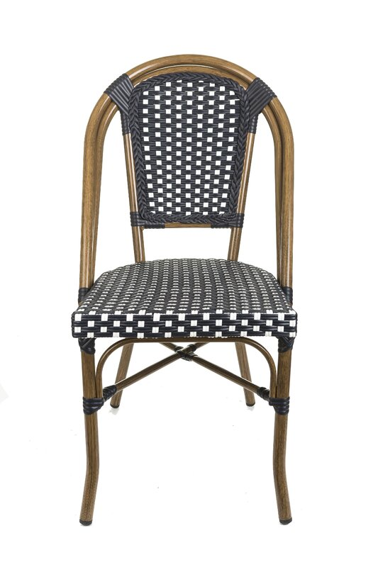 Stacking Paris Bistro Patio Dining Chair #parisian #cafechair #chair #bistro #paris