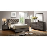 Grigori Queen 4 Piece Bedroom Set by Wrought Studio