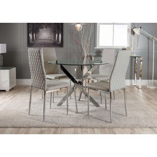 Wasdale Dining Set With 4 Chairs