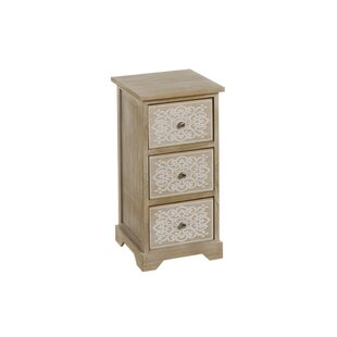 Faughil 3 Drawers Chest By World Menagerie