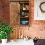 Fortescue 21.7 W X 27.8 H X 8 D Solid Wood Wall Mounted Bathroom Cabinet by Gracie Oaks