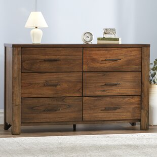 Cayuse 6 Drawer Double Dresser by Loon Peak