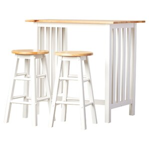 3piece sasha pub table set