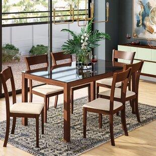 Roosevelt 7 Piece Rectangular Dining Set by Corrigan Studio