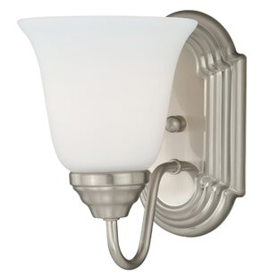 Abree 1-Light Bath Sconce by Charlton Home