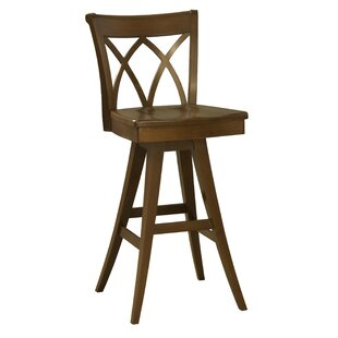 Ines 30.5 Swivel Bar Stool Red Barrel Studio