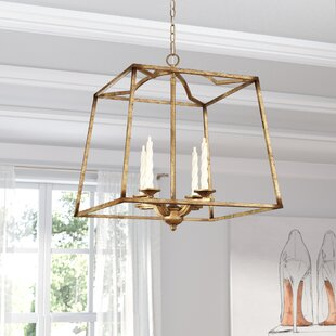 Willa Arlo Interiors Senter 4-Light Foyer Pendant