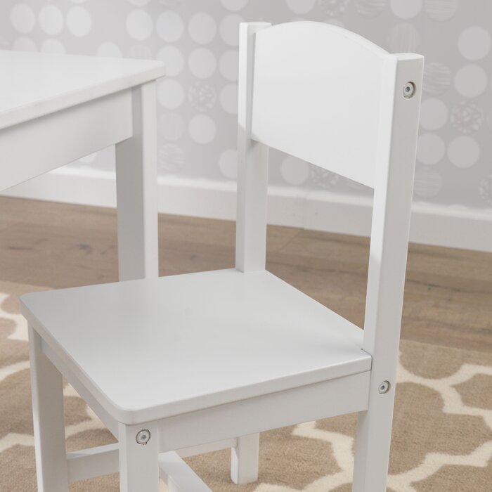 Marvelous Aspen Kids 3 Piece Writing Table And Chair Set Machost Co Dining Chair Design Ideas Machostcouk