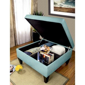 Key Largo Legged Box Storage Ottoman