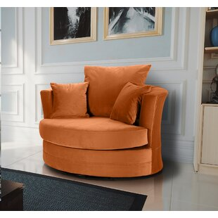 Ashburt Swivel Tub Chair By Canora Grey