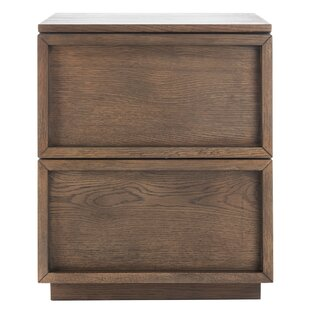 Best Reviews Imogen 2 Drawer Nightstand by Union Rustic