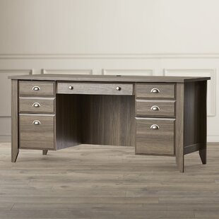 Rupert Executive Desk by Three Posts Modern