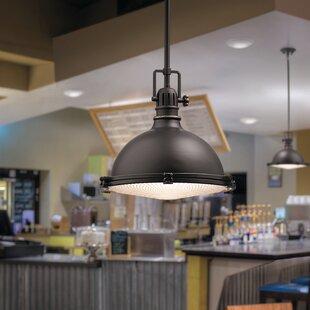 Kichler Fresnel 1-Light Dome Pendant