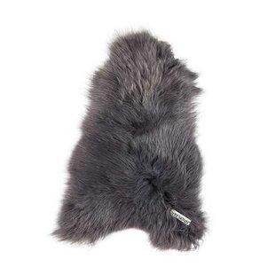 Svendborg Icelandic Sheepskin Dark Grey Rug By Dyreskinn