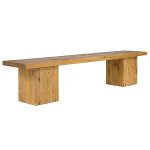 Sitzbank Gladstone aus Holz von Massivum
