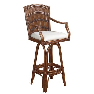 Hutchinson Island South 30 Swivel Bar Stool Beachcrest Home