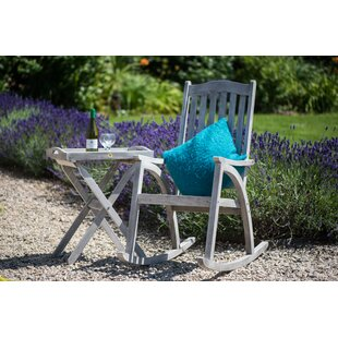Review Alanson Folding Wooden Bistro Table