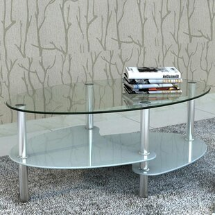 Orren Ellis 3 Layer Coffee Table