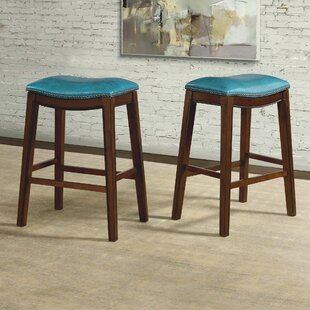 Oxford Backless 30 Bar Stool Millwood Pines