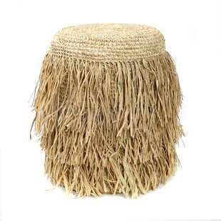 Review The Raffia Shaggy Stool