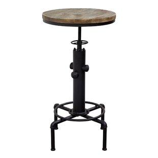 Brooklyn Adjustable Height Pub Table by Diamond Sofa #1