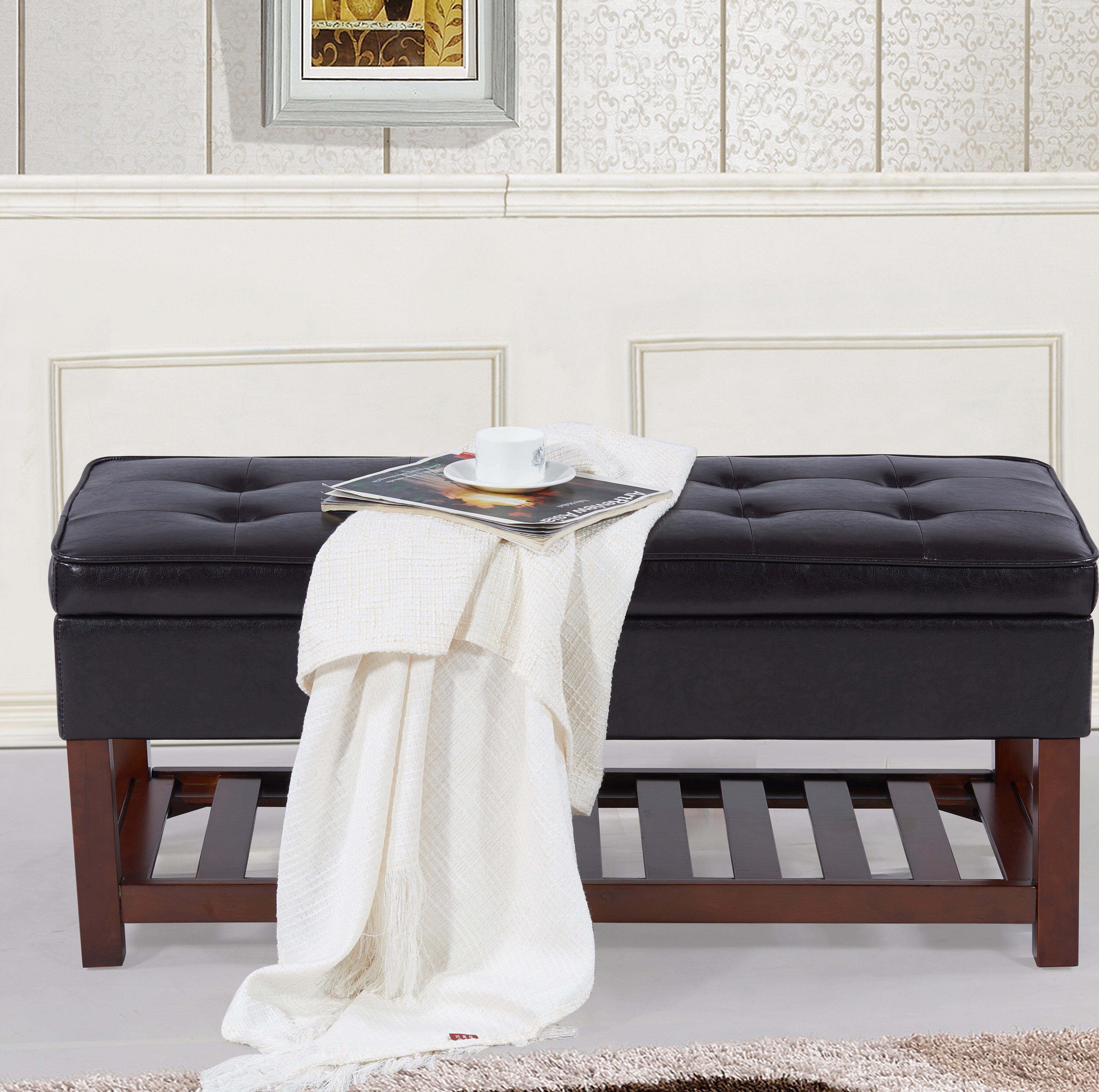 Ketter Upholstered Storage Bench