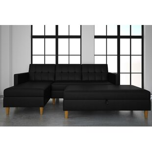 Cordell Reversible Sleeper Sectional with Ottoman