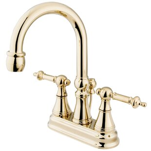 Centerset Bathroom Faucet with Drain Assembly ByElements of Design