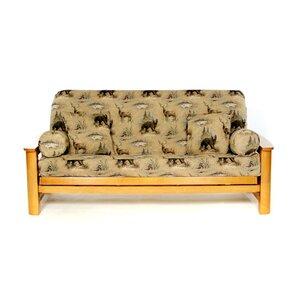 Woodlands Box Cushion Futon Slipcover