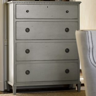 Mikah 4 Drawer Gentleman's Chest