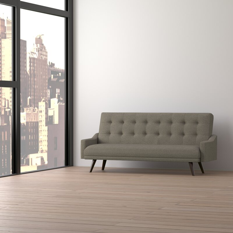 cottrill click clack futon sofa bed wrought studio cottrill click clack futon sofa bed  u0026 reviews   wayfair  rh   wayfair