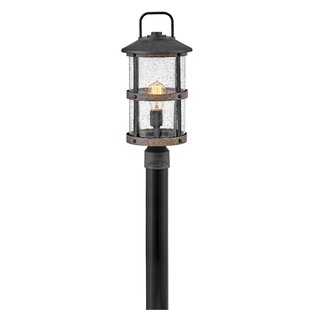 Lakehouse Outdoor 1-Light Lamp Post by Hinkley Lighting