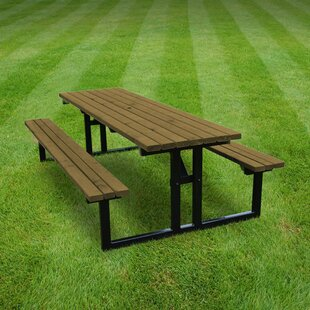 Reva Steel Picnic Benches By Sol 72 Outdoor