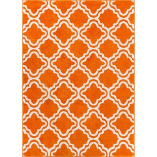 StarBright Orange Area Rug by Latitude Vive