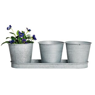 Shipley 4 Piece Metal Cachepot Set By Sol 72 Outdoor