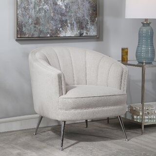 Applegate Barrel Chair by Everly Quinn SKU:DC417722 Check Price