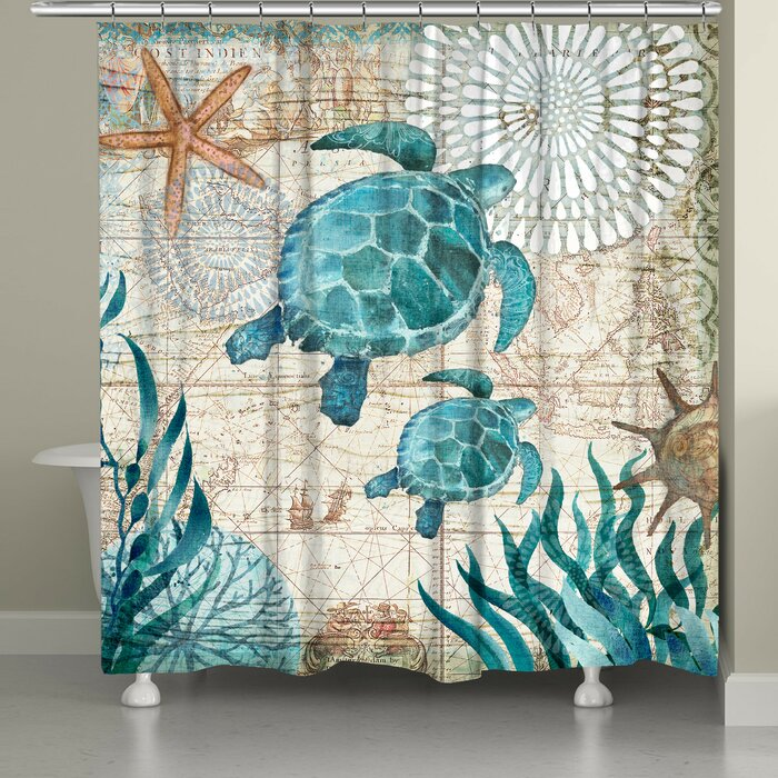 Briarton Turtles Shower Curtain