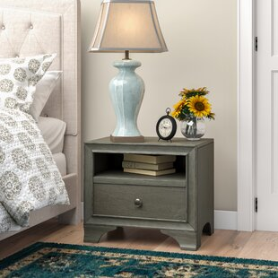Bowdoin 1 Drawer Nightstand by Alcott Hill