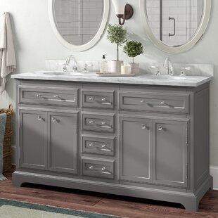 Bergin 60 Double Bathroom Vanity Set By Three Posts