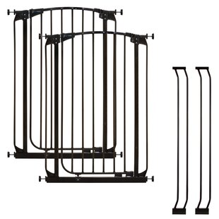 Price comparison Chelsea Tall Auto Close Safety Gate (Set of 2) ByDreambaby
