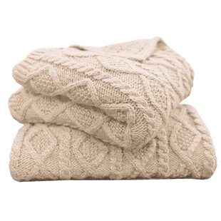 Polson Cable Knit Throw