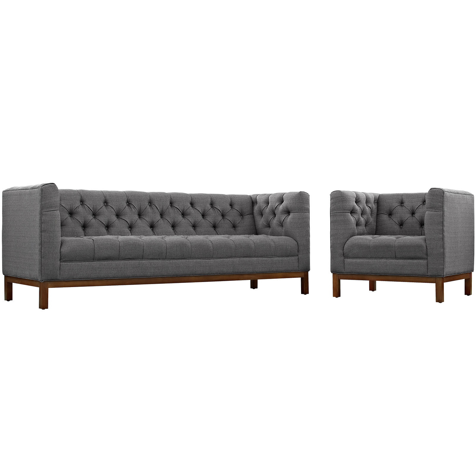 Dundas 2 Piece Standard Living Room Set Allmodern