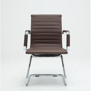 Tan Leather Desk Chair | Wayfair