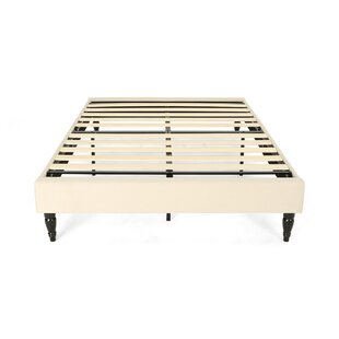 Ivy Bronx Ideal Fully Upholstered Queen Bed Frame