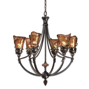 World Menagerie Soukaina 6-Light Shaded Chandelier