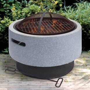 Aravale Steel Charcoal Fire Pit By Sol 72 Outdoor