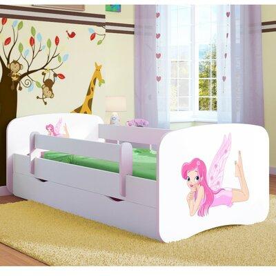 Kinderbett Cerna mit Matratze und Schublade | Kinderzimmer > Textilien für Kinder > Kinderbettwäsche | Mdf - Holzwerkstoff | Roomie Kidz
